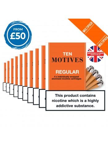 10 Motives Tobacco 10 Pack Bundle