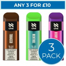 N-ONE Disposable Pod Bundle Deal 3 Pack CAPSULES & PODS