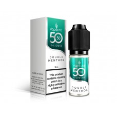 Vivid Alternative: 50/50 Double Menthol E-Liquid 10ml MENTHOL & MINT