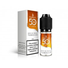 Vivid Alternative:  50/50 Original Tobacco E-Liquid 10ml TOBACCO