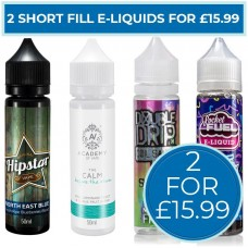 Short Fill Bundle 2 For £15.99 LIQUIDS