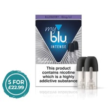My Blu Intense Blueberry Pods 18mg CAPSULES & PODS