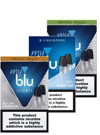 My Blu Liquid Pods Bundle Deal Of 5 E-LIQUID CAPSULES