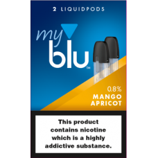 My Blu Mango Apricot Pods 0.8% CAPSULES & PODS