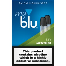 My Blu Menthol Pods 1.6% CAPSULES & PODS