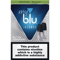 My Blu Intense Menthol Pods 18mg CAPSULES & PODS