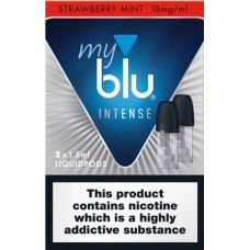 My Blu Intense Strawberry Mint Pods 18mg CAPSULES & PODS