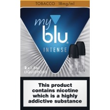 My Blu Intense Tobacco Pods 18mg CAPSULES & PODS