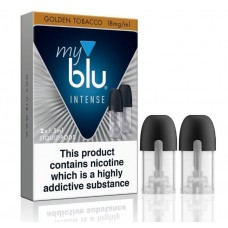 My Blu Intense Golden Tobacco Pods 18mg CAPSULES & PODS