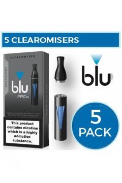 Blu Pro Clearomiser 5 Pack Bundle VAPING ACCESSORIES