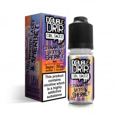 Double Drip Strawberry Laces and Sherbet E-Liquid 10ml LIQUIDS