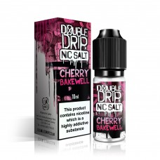 Double Drip Nic Salt Cherry Bakewell 20mg 'NIC' SALTS