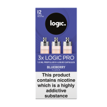 Logic Pro Blueberry Capsules Refills 3 Pack
