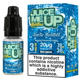 Juice Me Up Artic Menthol Sub Ohm E-Liquid LIQUIDS