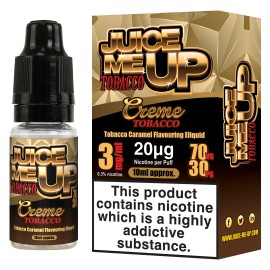 Juice Me Up Creme Tobacco Sub Ohm E-Liquid LIQUIDS