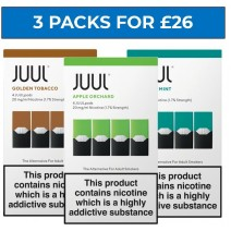 JUUL Pods Bundle Deal of 3 Packs 18mg