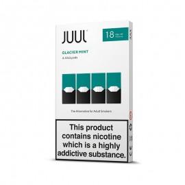 JUUL Glacier Mint 4 Pods  LIQUIDS