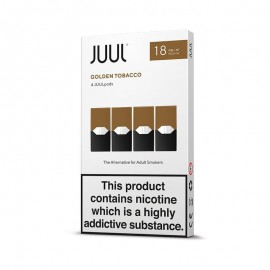 JUUL Golden Tobacco 4 Pods  LIQUIDS