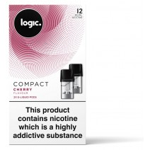 Logic COMPACT Cherry Pod Refills 2 Pack
