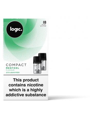 Logic COMPACT Menthol Capsules Refills 2 Pack LIQUIDS