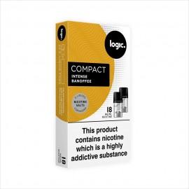 Logic COMPACT Intense Banoffee Pod Refills 2 Pack LIQUIDS