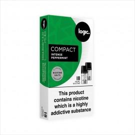 Logic COMPACT Intense Peppermint Pod Refills 2 Pack LIQUIDS