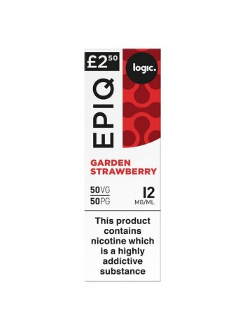 Logic EPIQ 50/50 Strawberry Garden E-Liquid  LIQUIDS