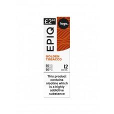 Logic EPIQ 50/50 Golden Tobacco E-Liquid  LIQUIDS