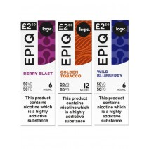 Logic EPIQ 50/50 E-Liquid Bundle Deal of 6 Liquids