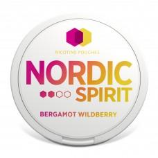 Nordic Spirit Bergamot Wild berry  NICOTINE POUCHES