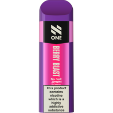 N-ONE Disposable Pod Berry Blast 20mg 'NIC' SALTS