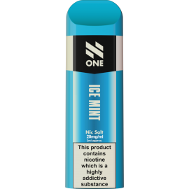 N-ONE Disposable Pod Ice Mint 20mg 'NIC' SALTS