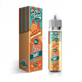 Ohm Baked Orange Almond Tart Shortfill 50ml LIQUIDS