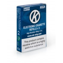 Nicocig Alternative: OK Tobacco Cartomiser Cartridge Refills 5 Pack