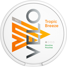 VELO Tropical Breeze Nicotine Pouches 4mg NICOTINE POUCHES