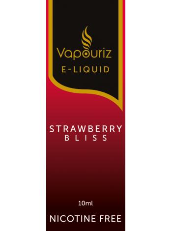 Vapouriz Strawberry Bliss E-Liquid 10ml LIQUIDS