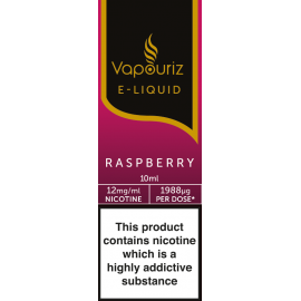 Vapouriz Raspberry E-Liquid 10ml LIQUIDS