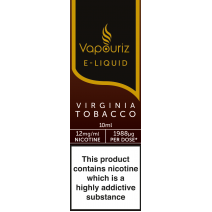 Vapouriz Virginia Tobacco E-Liquid 10ml