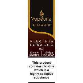 Vapouriz Virginia Tobacco E-Liquid 10ml LIQUIDS