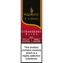Vapouriz Strawberry Bliss E-Liquid 10ml