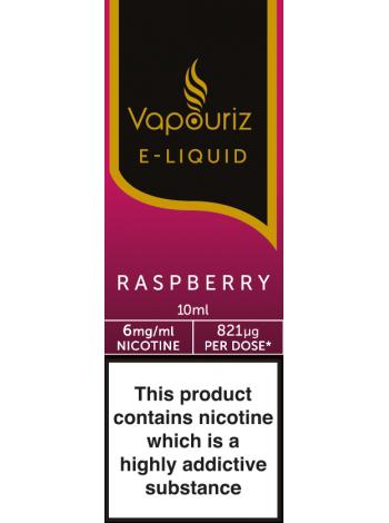 Vapouriz Raspberry E-Liquid 10ml LIQUIDS
