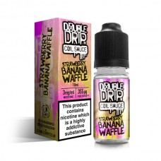 Double Drip Strawberry Banana Waffle Coil Sauce E-Liquid 10ml LIQUIDS
