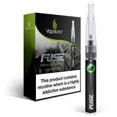 Vapouriz Fuse Black Electronic Cigarette Starter Kit ECIGS STARTER KITS