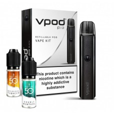 VPOD Pro Starter Kit + Liquid ECIGS STARTER KITS