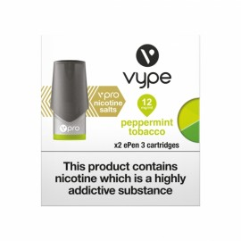 Vype ePen 3 Pro Peppermint Tobacco CAPSULES & PODS