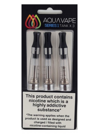 Aquavape Clear CE4 Triple Pack Clearomizers