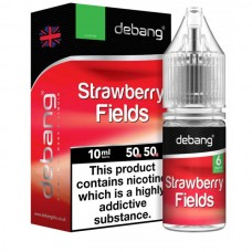 Debang Strawberry Fields 18mg E-Liquid 10ml LIQUIDS