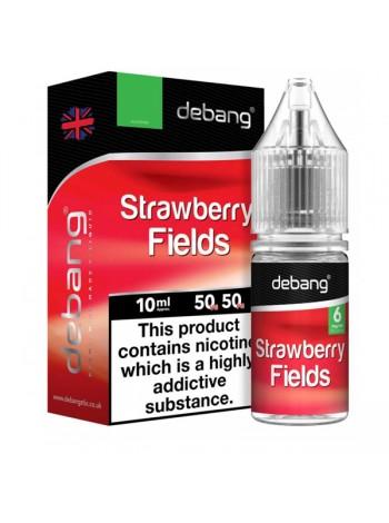 Debang Strawberry Fields 18mg E-Liquid 10ml LIQUIDS