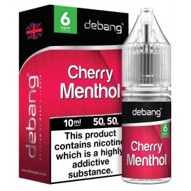 Debang Cherry Menthol E-Liquid 10ml LIQUIDS