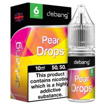 Debang Pear Drops 18mg E-Liquid 10ml